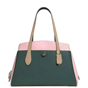COACH Colorblock Lora Carryall Satchel Tote 89085